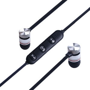 Image 5 - מגנטי Bluetooth אוזניות ספורט ריצה אלחוטי Neckband אוזניות אוזניות עם מיקרופון סטריאו מוסיקה עבור טלפונים חכמים