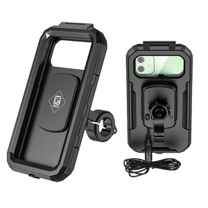 Image 5 - 2021 New Waterproof Motorcycle Wireless 15W Qi/ Type C PD Charger Phone Mount Holder Box