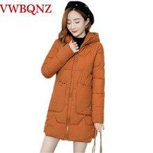 Parka chaud pour femme, manteaux femme, à capuche, en coton chaud, rembourré, ample, nouvelle collection dhiver 2020, 3XL