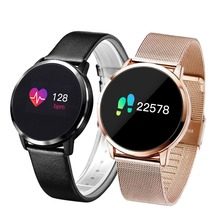 New Q8 Q9 Smart Watch Fashion Electronics Men Women Waterproof Sport Tracker Fitness Bracelet fashion Smartwatch Wearable Device diggro q8 oled bluetooth fitness smart watch stainless steel waterproof wearable device smartwatch wristwatch men women tracker