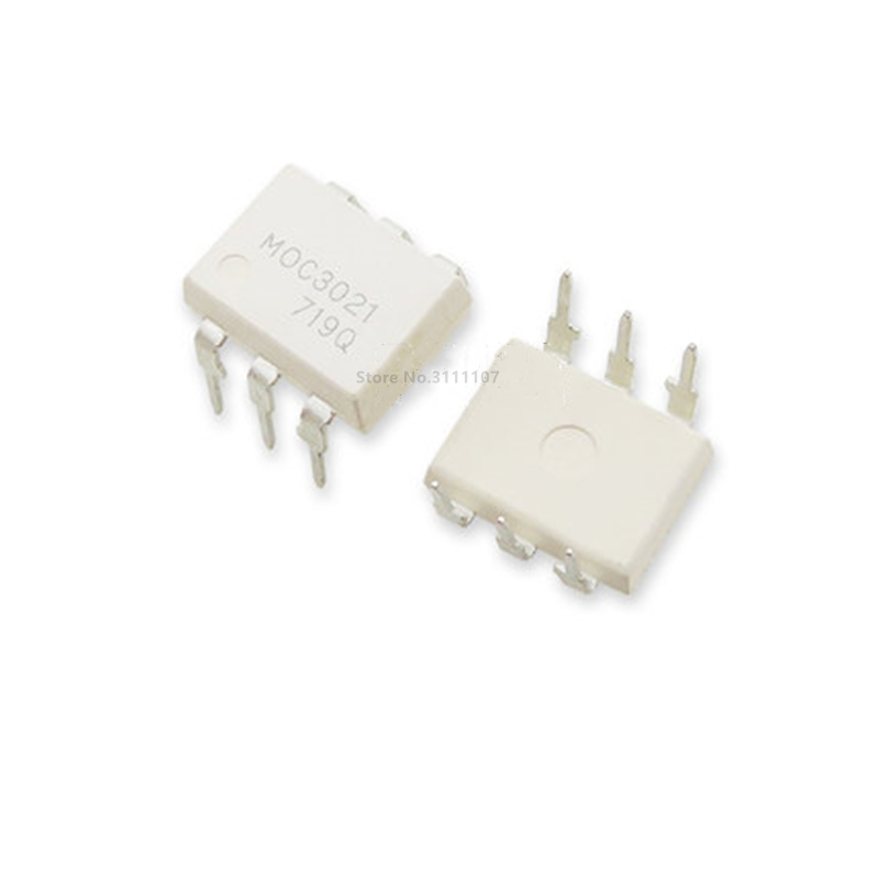 10PCS/LOT MOC3021 DIP6 3021 DIP Optocoupler Isolator New dip-6 SIP-6