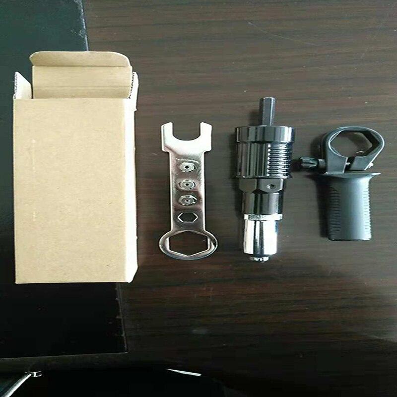 Электрическая литиевая электродрель из алюминиевого сплава плюс пластиковый пистолет с заклепками различные преобразователи быстрого