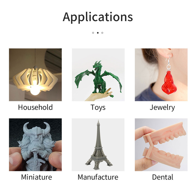 ANYCUBIC Photon Mono X 3D Printer 8.9 inch 4K Monochrome LCD UV Resin Printers 3D Printing High Speed APP Control SLA 3D Printer 6