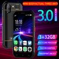 Soyes S10 водонепроницаемый мини-смартфон, Android 6,0, MTK6737, 1800 мАч