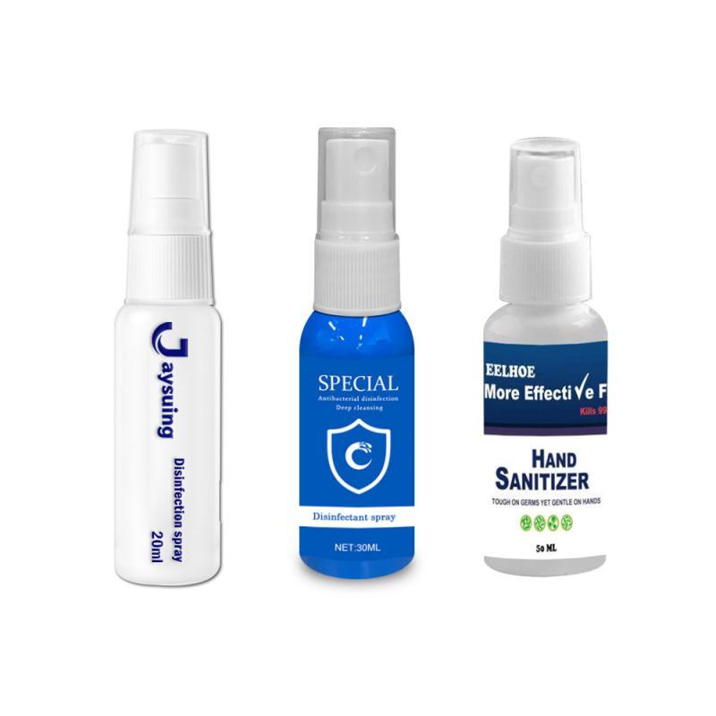30ml Hand Sanitizer Disposable Disinfection Spray Sterilization Hand Soaps Long-lasting Clean Hand Sanitizer Gel TSLM2