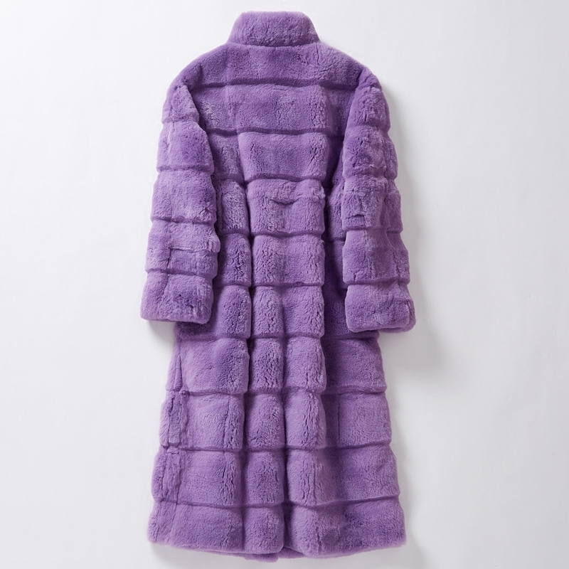 Fur Rabbit Real Coat Female Jacket Winter Jacket Women Natural Fur Jackets For Women Clothes 2020 Chaqueta Mujer MY3855 S