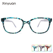 S2843e модная оправа кошачий глаз для женщин очки с прозрачными