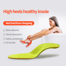 BANGNIPAD High Heel Insoles Soft Comfortable Breathable Sole Relieve Foot Pain Thin Summer Heels Shoes Pad for Ladies Women