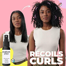 Hair-Care-Accessory Curl Boost Defining-Spray Hair-Mh88 for Dry Essence Moisturizing