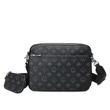 Printed Design Luxury Men s Bag European and American Fashion Men Shoulder Bag  High Quality and Large Capacity  Messenger Bag