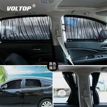 50x39cm Cotton Car Curtain Side Window Sunshades Summer Accessories Cooling Inside The Blocks UV Heat
