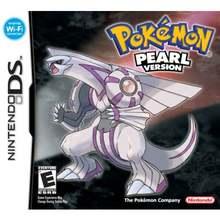 Consola de videojuegos Pokemon DS Pearl versión Nintendo DSI 3DS NDSi DSi DSI NDSL DS NDS Idioma Inglés, Cartucho de consola, juguetes para niños