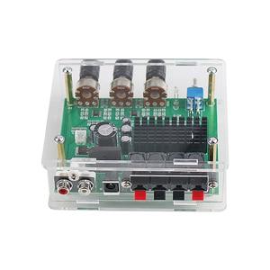 Image 3 - GHXAMP TPA3116D2 80 Вт * 2 стерео усилитель, аудиоплата TPA3116, цифровой усилитель, предусилитель звука, тон высокой мощности, DC12 24V 1 шт.