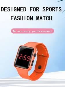 Kids Watches Montre Digital Girls Electronic Boys Relojes Feminino Orologi Zegarek Horloges