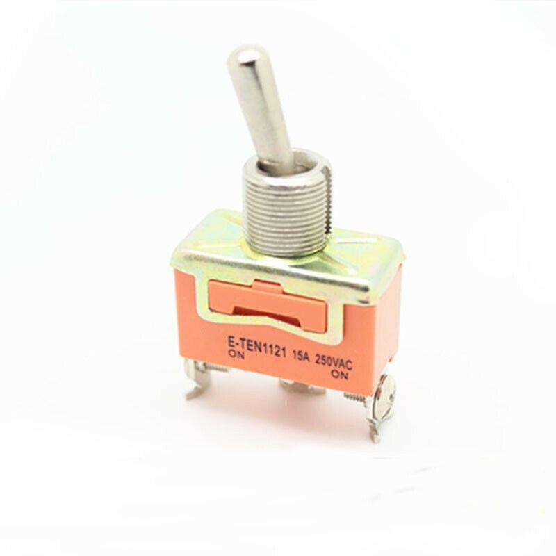 Купить 1 шт φ on e ten1121 rocker switch 15a 250vac spdt 3 контактный