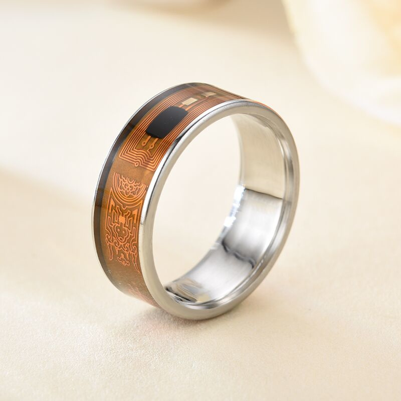 1/2PCS Newest waterproof smart ring uses magic NFC ring for