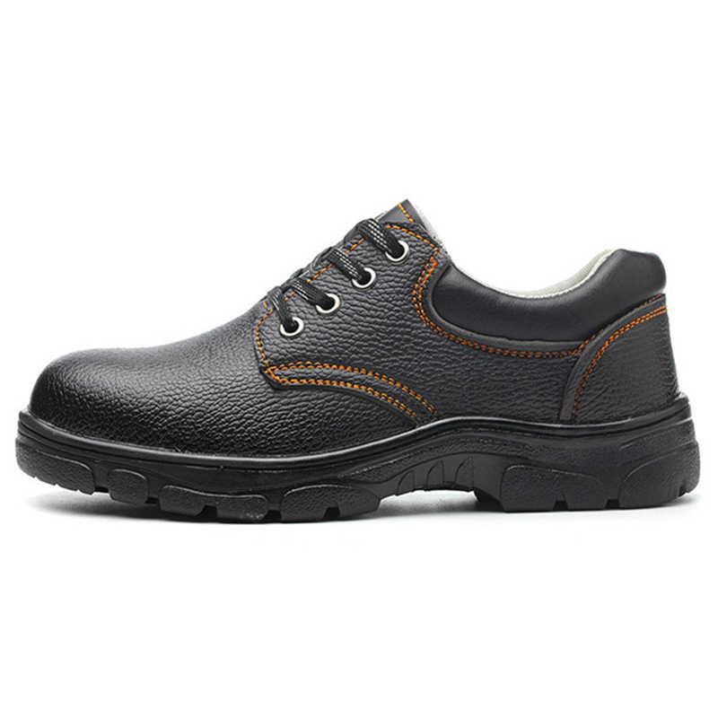 ผู้ชายทำงานรองเท้าผู้ชายรองเท้า 2019 ทหารผู้ชายความปลอดภัยรองเท้าอุตสาหกรรม & Construction บู๊ทส์ผู้ชายรองเท้า