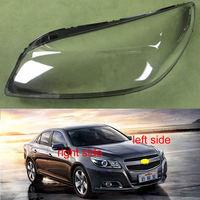 Transparent Lampshade Lamp Shade Front Headlight Shell Headlight Cover Lens For Chevrolet Malibu 2012 2013 2014
