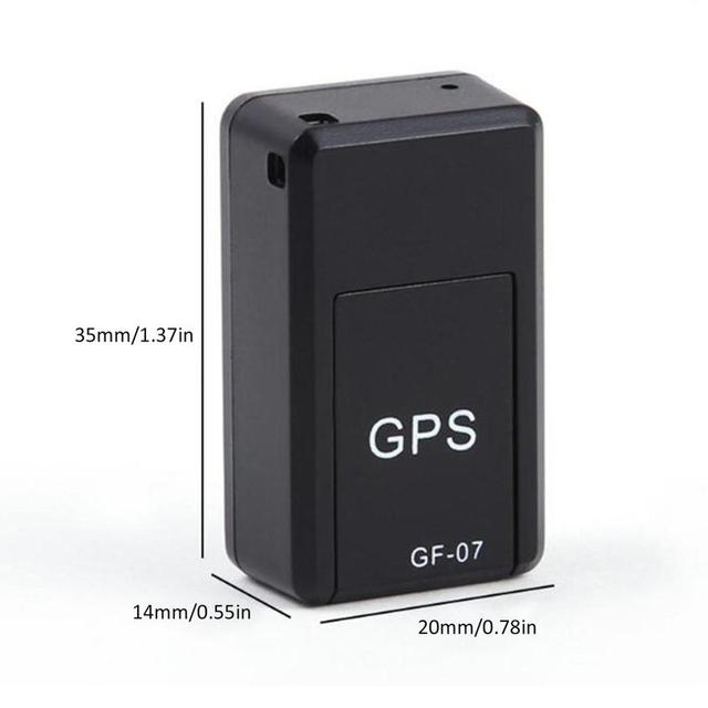 GF07 Magnetic Mini Car Tracker GPS Real Time Tracking Locator Device Magnetic GPS Tracker Real-time Vehicle Locator Dropshipping 5