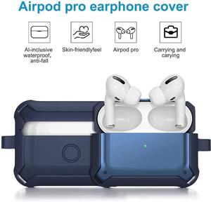 Image 4 - Soft Cover For Apple Airpods pro Case TPU PC Anti fall Cover For AirPods 2 3 Accessories Wireless Earphone Case With Keychain