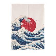 Японские декоративные занавески noren из хлопка и льна настенные