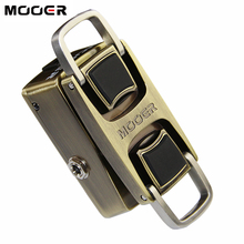MOOER The Wahter Guitar Pedal Wah Guitar Effect Pedal Pressure Sensing Switch Dual Switching Modes Full Metal Shell Guitar Parts