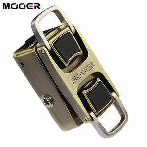 Image 1 - MOOER The Wahter Guitar Pedal Wah Guitar Effect Pedal Pressure Sensing Switch Dual Switching Modes Full Metal Shell Guitar Parts
