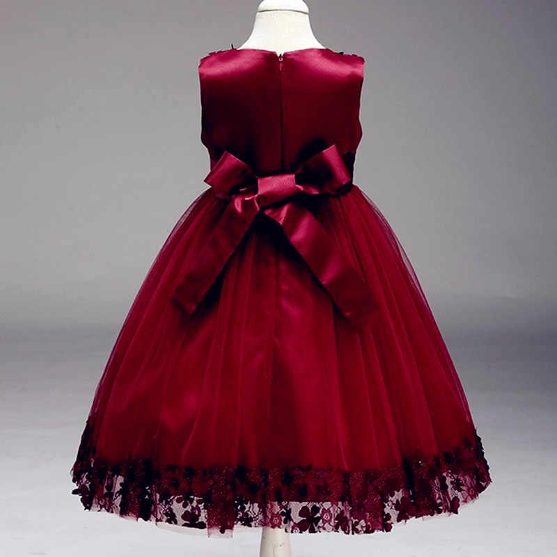 2020 夏の子供たちの初聖体のドレスボールガウンページェントドレスフラワーガールのドレス宴会