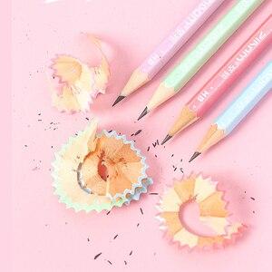 Image 4 - 100 個かわいい木の鉛筆hbグラファイト鉛筆学校事務用品かわいい文房具クリスマス賞品子供のための送料無料