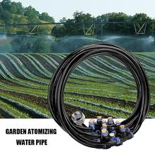 Outdoor Misting Misters Cooling System Brass Nozzle for Courtyard Trampoline Garden Greenhouse