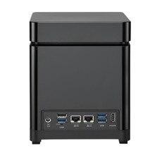 QNAP 4-Bay NAS TS-453Bmini Intel Celeron Apollo Lake J3455 Quad-core CPU, Diskless 8GB RAM, SATA 6Gb/s Storage Server