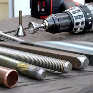 Image 5 - Narzędzie do usuwania zadziorów ze stali nierdzewnej narzędzie do zewnętrznego fazowania wiertła usuń Burr srebrne akcesoria narzędzia ręczne obróbka drewna #5