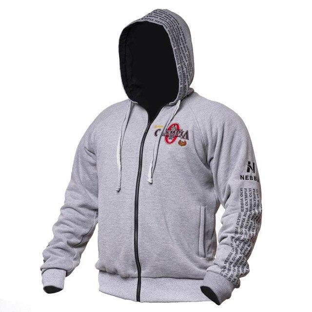 2019 Nieuwe OLYMPIA Mannen Sportscholen Hoodies Sportscholen Fitness Bodybuilding Sweater Trui Sportkleding Mannelijke Workout Capuchon Kleding