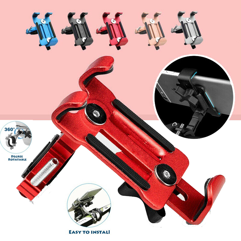 Aluminum Alloy Bicycle Phone Holder 3.5-6.5