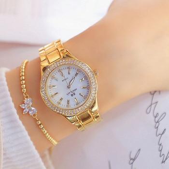 Womens Diamond Bracelets + Watches