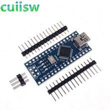 Mini USB CH340 Nano 3 0 ATmega328P płyta kontrolera kompatybilny z Arduino Nano CH340C dysk USB Nano V3 0 ATmega328 tanie tanio cuiisw CN (pochodzenie) Nowy REGULATOR NAPIĘCIA do komputera