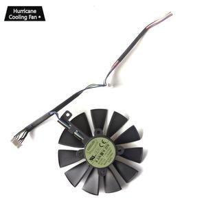 Image 3 - Yenİ 87 MM T129215SU Grafik Kartı Soğutma Fanı ASUS STRIX GTX 1060 1070 1080 1070Ti 1080Ti 980Ti/R9 390X R9 390 RX 480 580