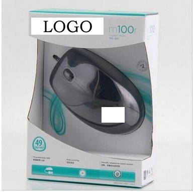 Factory OEM Logitech M100R Second Generation Boxed Desktop Computer Office Business Opto-electronic USB Wired Mouse