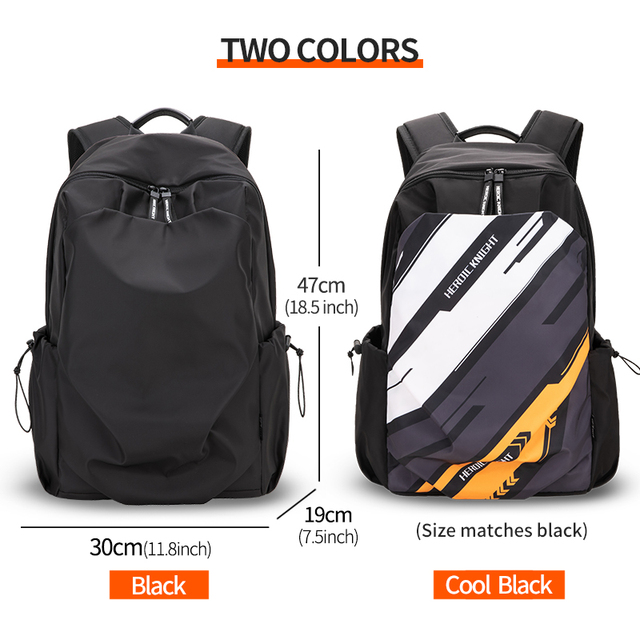 Heroic Knight Men Fashion Backpack 15.6inch Laptop Backpack   3