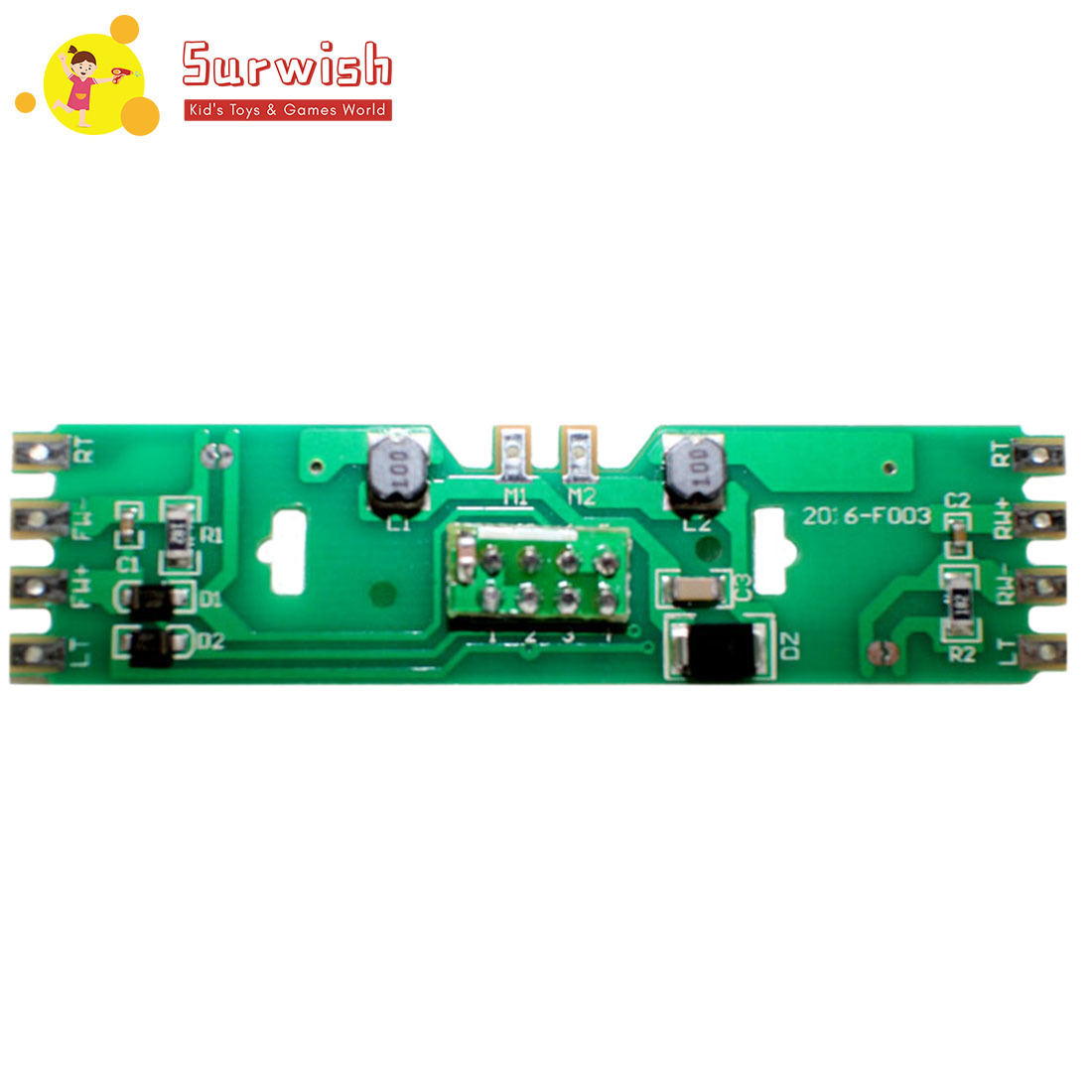 HO 1:87 Scale Train Model PCB Circuit Board Without Resistance For Bachmann Train Model - Upgrade Version