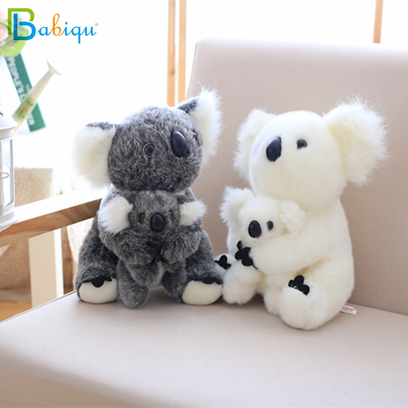 Kawaii Koala Plush baby Toys Australian Koala Bear Stuffed Soft Doll Kids Lovely Gift For friends Girls Baby parent-child toys(China)