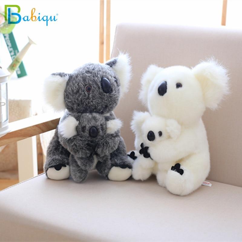 Kawaii Koala Plush baby Toys Australian Koala Bear Stuffed Soft Doll Kids Lovely Gift For friends Girls Baby parent-child toys(China)
