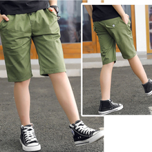 Clothing Short-Pants Baby-Boy Sloid-Color Summer Kids Casual Children Young Fit Mid Boys
