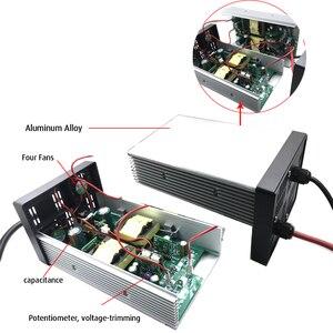 Image 3 - YZPOWER 84V 6A 7A 8A 9A 10A akumulator litowo jonowy ładowarki ładowarka akumulatorów litowych do 72V 20S akumulator litowo jonowy Highpower inteligentne szybkie ładowanie