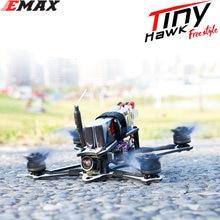 Emax tinyhawk drone bnf versão frsky, drone de 115mm, 2.5 polegadas, f4 5a esc fpv racing rc, compatível com fpv