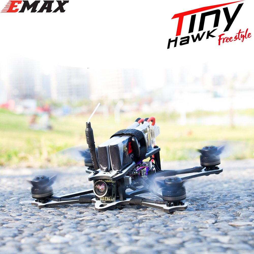 EMAX Tinyhawk Freestyle 115mm 2.5inch F4 5A ESC FPV Racing RC Drone BNF Version Frsky Compatible FPV Drone image