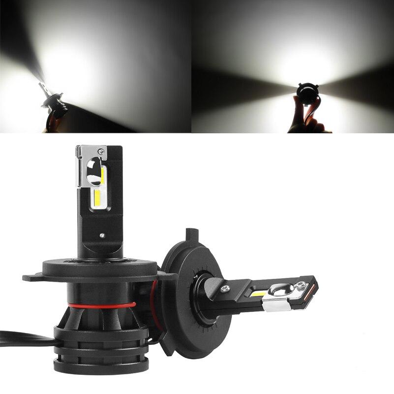 M2 CSP LED Car Light Bulbs H4 H7 H8 H9 H11 H1 HB3 HB4 9005 9006 LED Headlight Car Lamp Turbo Bulbs Auto 12V 24V Canbus