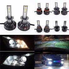 1 пара автомобильный головной светильник лампа светодиодный