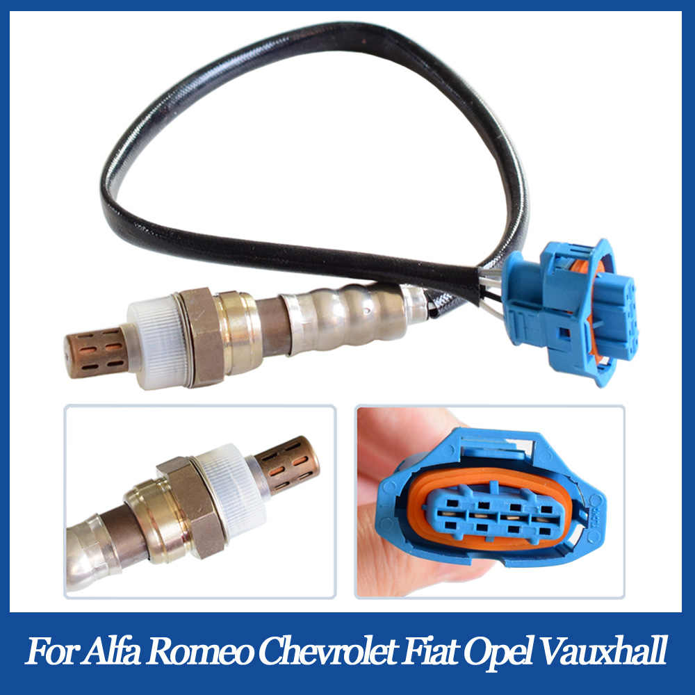 4 Wire Sensor Oksigen 55566650 5WK91000 55353811 untuk Alfa Romeo 159 Chevrolet Cruze Opel Meriva Omega B Vauxhall Vectra