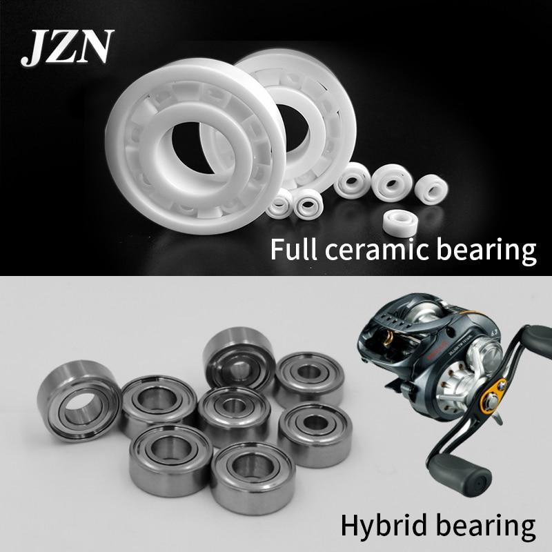 Free shipping Hybrid ceramic ball fishing reel modified bearing SMR85 5X8X2.5mm does not rust and ru
